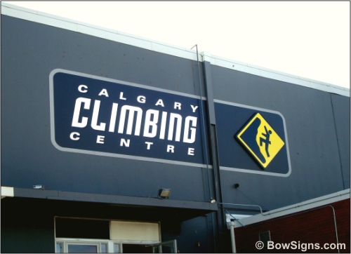 Exterior Building Fascia Signs Awnings Company Calgary Alberta Gorgeous Exterior Signage Design Plans