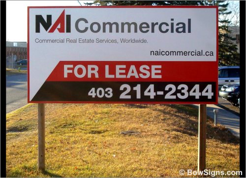 Property For Lease Sign Maker Calgary Alberta