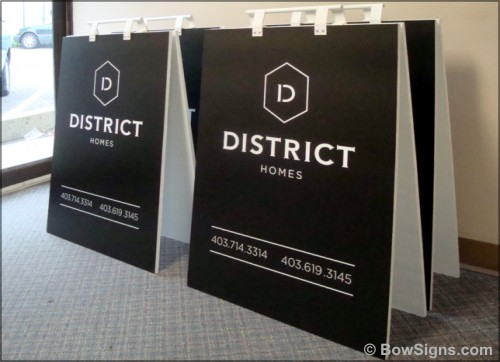 Calgary Manufactured Sandwich Boards A Frame Signs