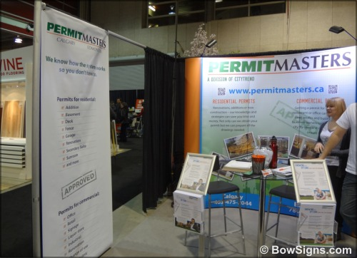 Calgary Alberta Rent Portable Trade Show Display