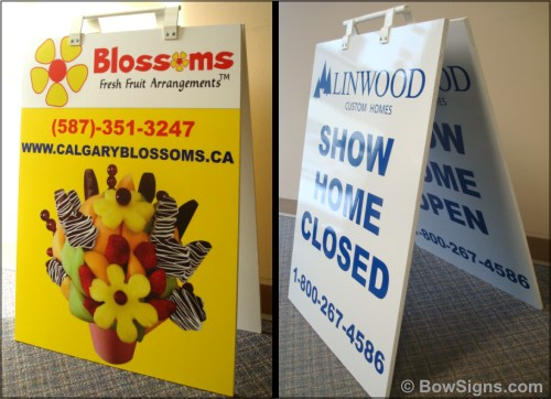 Reversible Sandwich Boards Calgary