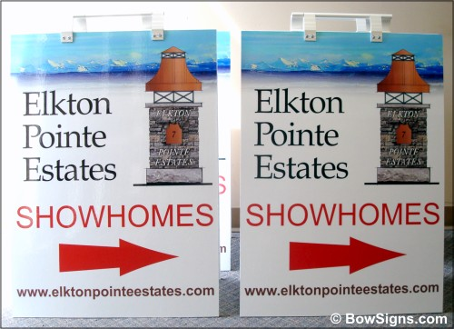 Calgary Alberta Sandwich Board Signs For Real Estate