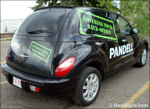 Vehicle graphics Calgary AB