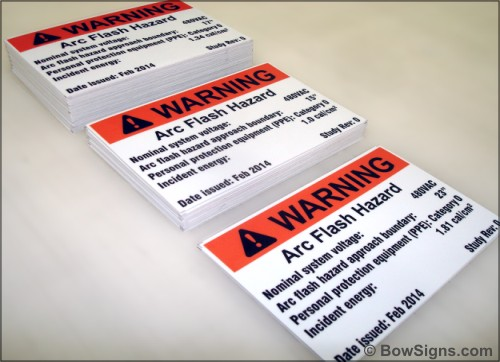 Workplace Safety Signs Labels